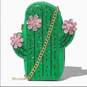 Charming Charlie Cactus Crossbody Bag